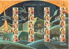 LS88 de Noël 2013 Royal Mail générique Smilers Sheet