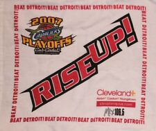 NBA CLEVELAND CAVS BASKETBALL 2007 PLAYOFF RALLY TOWEL ARENA PROMO CLEV+ VARIANT