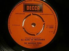 "The Nashville Teens""Tobacco Road""All Along The Watchtower""sgle7""uk.69.decca12929"