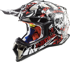 LS2 Helmet Bike Off-road Mx470 Subverter Voodoo Black White Red S