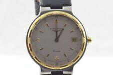 Longines Conquest orologio Uomo Quarzo Acciaio/Oro 4020 date RAR VINTAGE