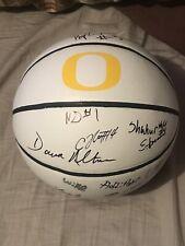2019-2020 Oregon Ducks Team Signed Basketball Coa Payton Pritchard Autographed