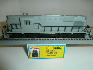 HO Atlas Kato Undecorated RSD-12 Diesel Engine, TRO, Mint