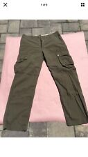 J.Crew Factory Rip Stop Cargo Pants (Brand New) Brigade Olive Straight Fit