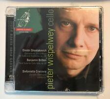 PIETER WISPELWEY Cello CD Shostakovich Britten Cracovia 2008 Free Shipping NEW