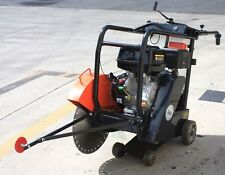 420cc Gas Engine Walk Behind 18 Concrete Cement Cut Off Floor Saw With 18 Blade