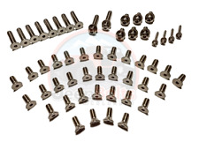 TJ Jeep Wrangler Windshield Tailgate Door Hinge Bolts 66pc Rust Proof Stainless