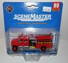 Walthers HO Scale International 4900 Crew Cab Fire Engine Red #949-11841 NIP