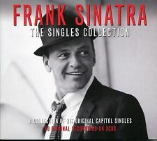 FRANK SINATRA THE SINGLES COLLECTION - 3 CD BOX SET, I LOVE YOU, RAIN & MORE