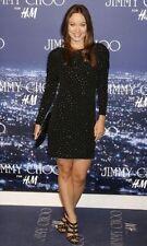 NEW Jimmy Choo for H&M Black Rhinestone Mini Dress Party Small UK 10-12 EUR36-38