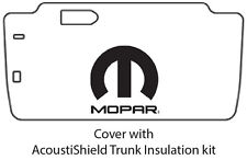 1963 1964 Dodge Plymouth Trunk Rubber Floor Mat Cover with M-006 MOPAR
