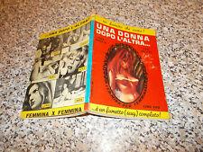 ALBO ROMANZO VAMP N.74 ed.CEA 1969 una donna dopo l'altra OTTIMO TIPO DIABOLIK