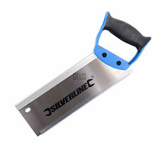 "Silverline 763568 Hardpoint Tenon Saw250mm (10"") 12tpi"