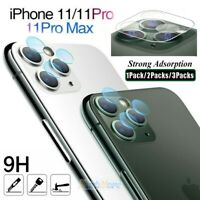 For iPhone 11/11 Pro Max Tempered Glass Camera Lens Screen Protector Full Cover