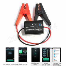 12V Bluetooth 4.0 Battery Monitor Car Wireless Free Mobile APP Real Time Tester