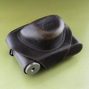 Case M2 M3 LEICA camera case  Brown Leather borsa tasche etui 14528 IDCOO  ☆☆☆