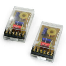 COPPIA Filtri Crossover 2 Vie 1 canale DME filtro per WOOFER TWEETER 300W Nuovi