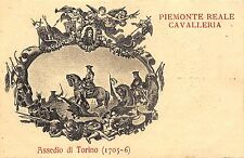 1154) ROMA, PIEMONTE REALE CAVALLERIA, ASSEDIO DI TORINO.