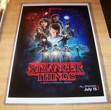 Stranger Things Netflix 11X17 Original Poster