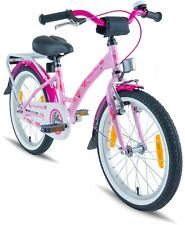 PROMETHEUS Kinderfahrrad 18 Zoll Mädchen Rosa Pink mit Seitenständer ab 6 Jahren