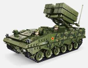 1561Pcs Military Hj-10 Anti Tank Missile Building Blocks Bricks Model Figure Set