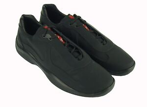 PRADA men's shoes american cup's sneakers мужская обувь 男鞋 紳士靴 100%AUT. dkw7