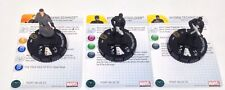 Heroclix Avengers Movie set Hydra Team Pack (3 figures) w/cards!