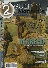 2ème GUERRE MONDIALE,DEBRECEN, ULTIME VICTOIRE DES PANZER, N° 24