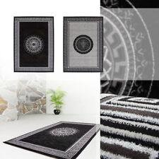 Alfombras de acrílico color principal gris para pasillos