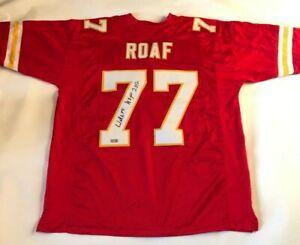 Willie Roaf Autographed Kansas City Chiefs Red Jersey Tristar Hologram