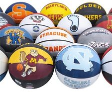 LOT OF 3 REGULATION SIZE COLLEGE BASKETBALLS OFFICIALLY LICENSED YOU CHOOSE New!