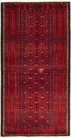 """Hand-knotted Carpet 3'3"""" x 6'7"""" Traditional Vintage Wool Rug...DISCOUNTED!"""