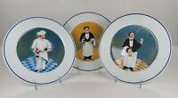 """Williams Sonoma Guy Buffet Sommelier Perrier-Joulet Beaujolais Dinner Plates 11"""""""