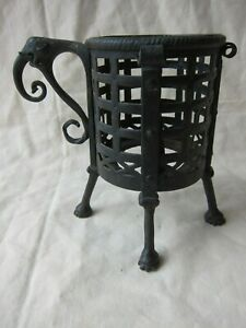 Antique Islamic  Indo-Persian , forged iron  incense burner