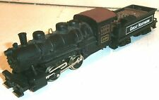 HO Scale Great Northern powered 0-4-0 Steam Locomotive & Tender - exc!