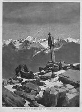Austria * Tirolo * Ötztaler ALPI * bildstöckeljoch * Venter Wild punta * M. Zeno Diemer