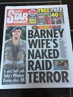 Windsor Davies Obituary Front Page Tv Newspapers Daily Star 20/01/2019