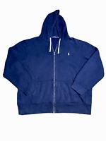 Polo Ralph Lauren Cotton-Blend-Fleece Zip-Up Hoodie (2XL)