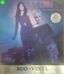 """Pepsi & Shirlie  All Right Now 1987 [POLH38] 12"""" Vinyl Lp Record Nr Mint Con"""