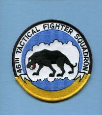 46th TFS USAF TAC Fighter Squadron Jacket Patch