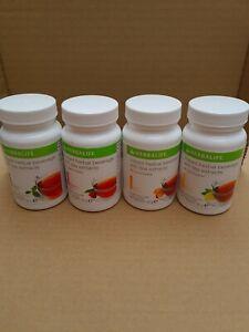 Herbalife Tea: Classic, Lemon, Raspberry, Peach flavor