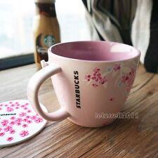 2010 STARBUCKS JAPAN SAKURA CHERRY BLOSSOM COFFEE TEA MUG CUP x1 12OZ/355ML