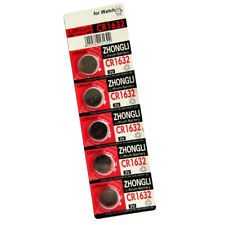 5 x CR1632 DL1632 KL1632 BR1632 L1632 LITHIUM 3V COIN/BUTTON CELL BATTERY UK