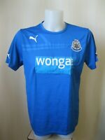Newcastle United training Sz L Puma shirt jersey maglia football soccer maillot