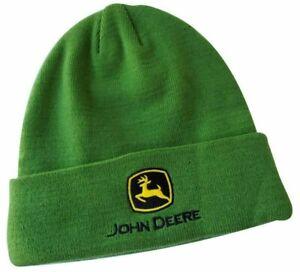 NEW John Deere Green Fleece Lined Beanie Stocking Cap LP77519