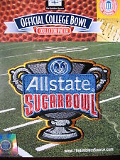 NCAA Official AllState Sugar Bowl Patch 2011/12 Michigan Virginia Tech