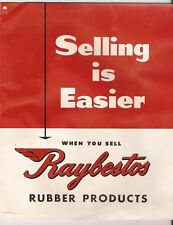Raybestos Rubber Products - Fan Belts Catalog  c1950