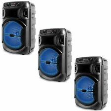 Novo Technical Pro 1000 W Portátil Alto-falante com Bluetooth Led Festa Com Usb, vendido como 3