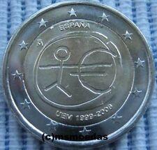 España 2 euros conmemorativa 2009 UEM 10 años de la UEM euro moneda Commemorative Coin