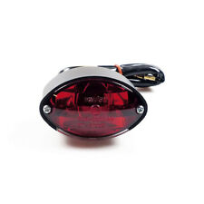 Rücklicht Mini Cateye Schwarz, für Harley-Davidson mit E - Prüfzeichen!